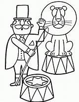 Circus Coloring Coloring2print sketch template