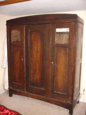 large wardrobe german shrunk  built  shelves