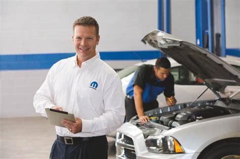 Chrysler Car Service by Mopar Parts Service