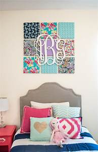Fabric wall art decor brilliant diy ideas