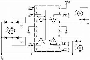 Block Diagram Of The L293d Motor Driver