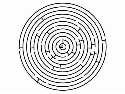 Maze Tricky Map Dribbble Circular Ages Took
