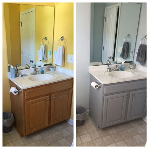 valspar kitchen cabinet paint before and after bathroom cabinet valspar chalky paint in