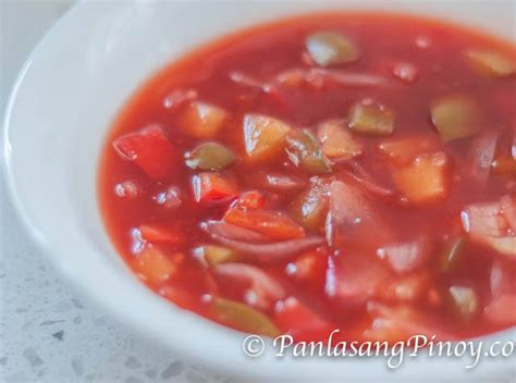 sweet and sour sauce easy sweet and sour sauce panlasang pinoy