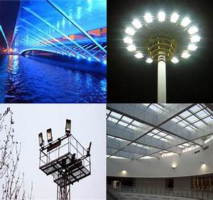 W led smd flood light outdoor waterproof