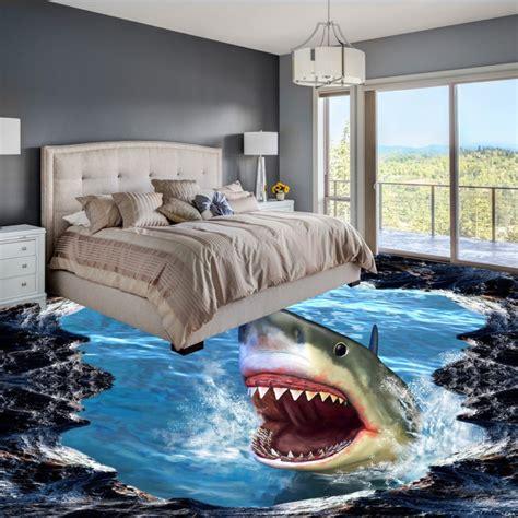 shipping shark  floor painting thickened  slip
