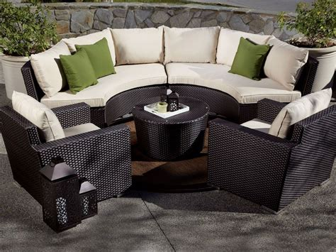 sectional outdoor furniture outdoor curved sofa curved outdoor sofa large thesofa