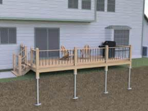 Deck Refinishing Products by Helical Deck Support Piers In St Paul Minneapolis Fargo