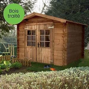 Bois Traité Autoclave : abri de jardin bois trait autoclave 7 18 m ep 19 mm ~ Dode.kayakingforconservation.com Idées de Décoration