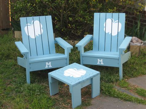 ana white kids adirondack chairs and a little scrap