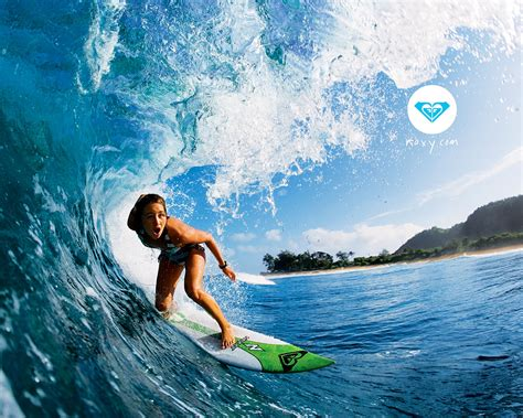 Fond Dcran Roxy Gratuit Fonds Cran Roxy Surf Vtement