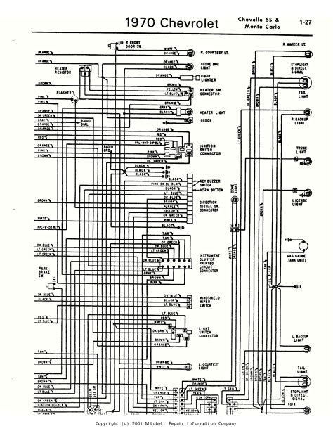 1970 Wiring Diagram by Im In Need Of Wiring Diagram For Both Sides Of The Fuse