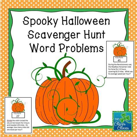 halloween math word problems holiday math halloween