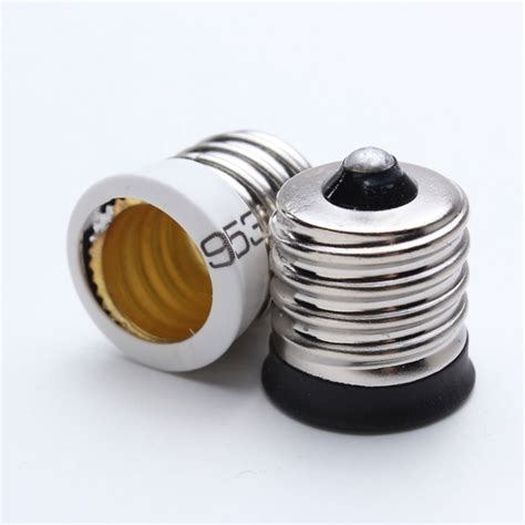 e17 to e12 socket holder led l bulb base converter