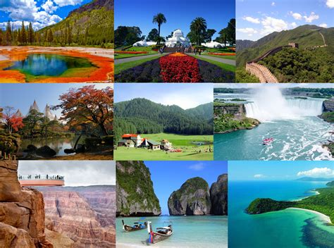 most beautiful vacation destinations