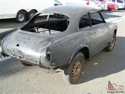 1958 Alfa Romeo Giulietta Sprint Restoration Project