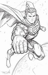 Superman Steel Sketch Coloring Drawing Pages Drawings Sketches Comic Superhero Raydillon Deviantart Printable Colouring Perspective Hero Warm Dc Superheroes Marvel sketch template