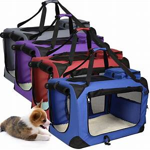 pet dog carrier portable house soft sided cat comfort With dog carry kennels