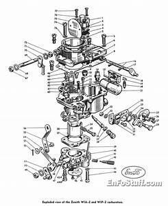 Carburetor Diagram Zenith Wia-2 And Wip-2