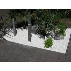 Galets Blancs Pour Jardin Prix by Galets D 233 Coratifs Blancs