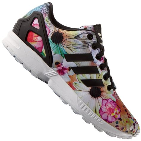 Adidas Originals Zx Flux Damen Sneakers bwkhessende