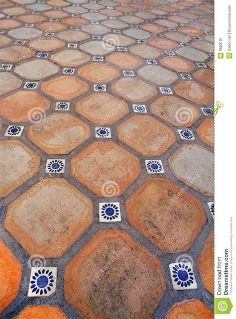 spanish tile floor stock image image