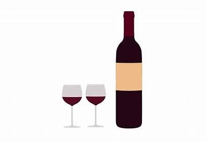 Wine Bottle Glasses Clip Clipart Bottles Graphic