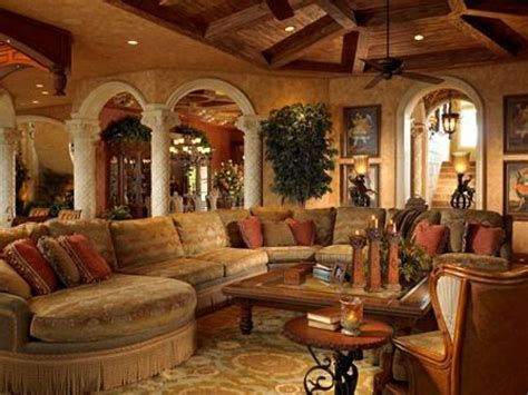 French Style Homes Interior Mediterranean Style Home