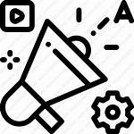 Marketing Digital Advertising Icon Icons Svg Bitcatcha