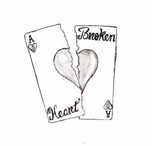 Sad Broken Heart Drawing | sad broken heart drawings | Art ...