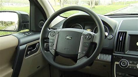 land rover freelander interior 2013 land rover freelander 2 ed4 interior youtube