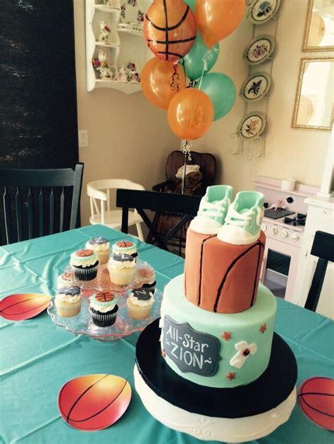 cake  cupcakes basketball baby shower basketball baby