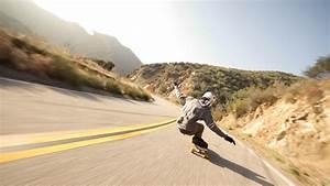Downhill Skateboarding ~ Mystery Wallpaper