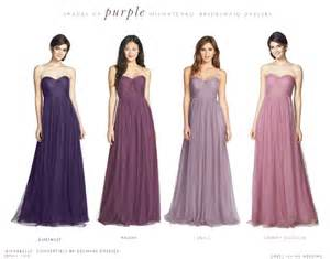 lavender bridesmaid dresses purple mismatched bridesmaid dresses
