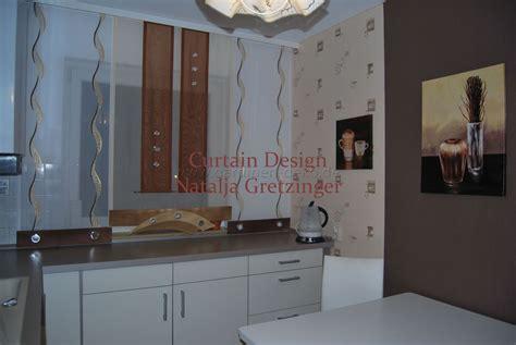 Gardine Für Die Küche by Schiebe Gardine Im Modernen Design F 252 R Die K 252 Che