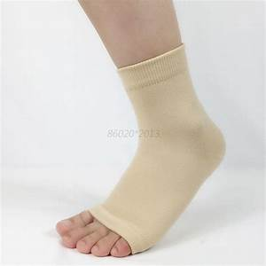 Ankle Foot Elastic Compression Wrap Sleeve Bandage Brace ...