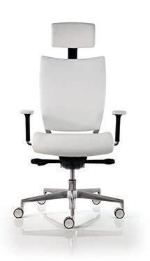 chaise de bureau cuir blanc fauteuil de direction cuir design hjh office parma 20