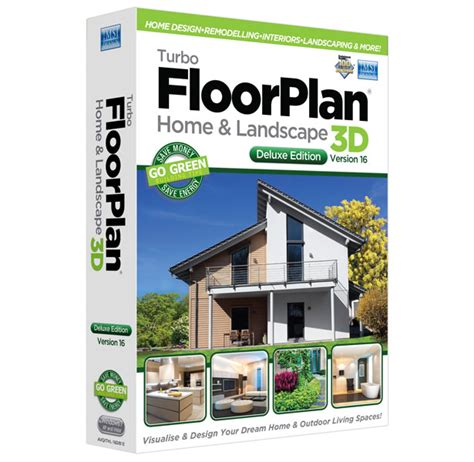 turbofloorplan home landscape deluxe  easy