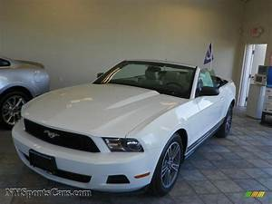 2010 Ford Mustang V6 Premium Convertible in Performance White - 167041 | NYSportsCars.com - Cars ...