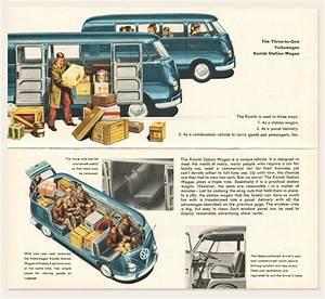 1958  59 Volkswagen Bus Brochure