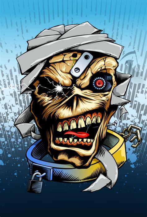 Iron Maiden Eddie Wallpaper Eddie The Head By Dacorpz On Deviantart