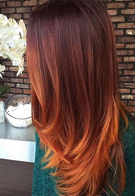 Hair Color Shades by 50 Copper Hair Color Shades To Swoon Fashionisers
