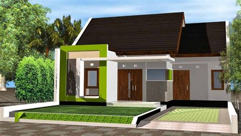 desain rumah sederhana tapi mewah terbaru