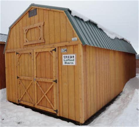 old hickory sheds lofted barn idaho