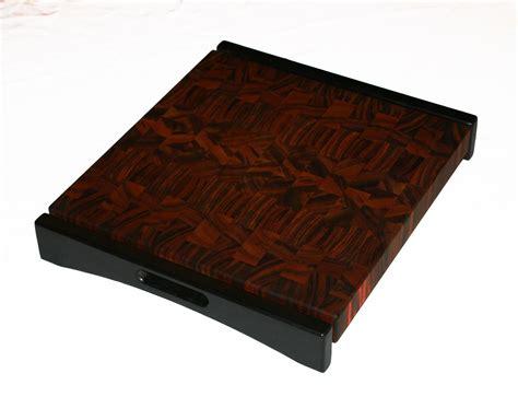 made tigerwood end grain cutting board by carolina wood designs custommade com