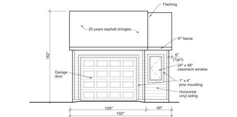 standard garage size canada build a garage 1 rona