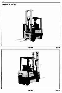 Toyota Lpg Forklift Truck 5fgc10-15 Workshop Service Manual