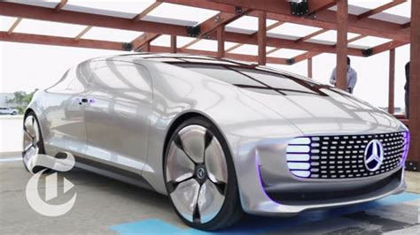 Ride In Mercedes's F 015 Driverless Car