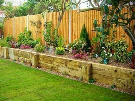 privacy fence raised flower beds gates fences