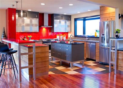 linoleum flooring kansas city 15 contemporary u shaped kitchen designs home design lover